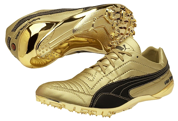Usain Bolt's world record breaking 100m spikes